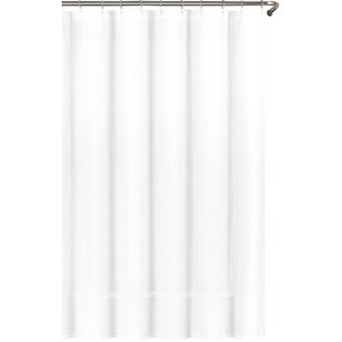 shower bookmark motif curtain curtains black hemmed hotel white htm