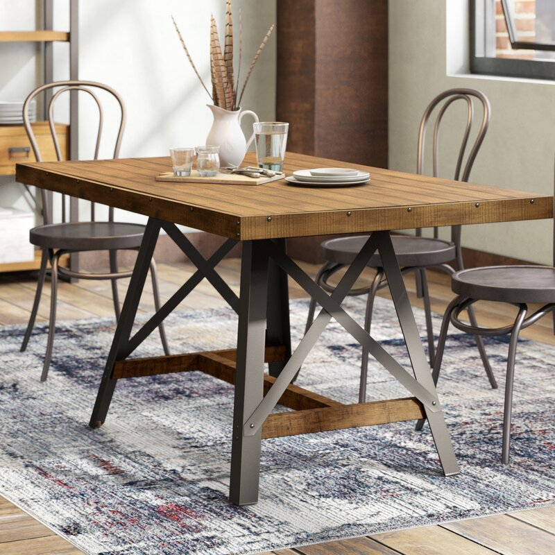 Laguna Reclaimed Solid Wood Dining Table