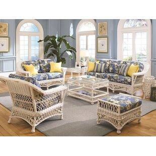 Wicker Living Room Furniture. Bar Harbor Configurable Living Room Set  by Spice Islands Wicker Coastal Sets You ll Love Wayfair