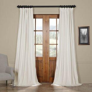 Wide Pocket Curtains Wayfair