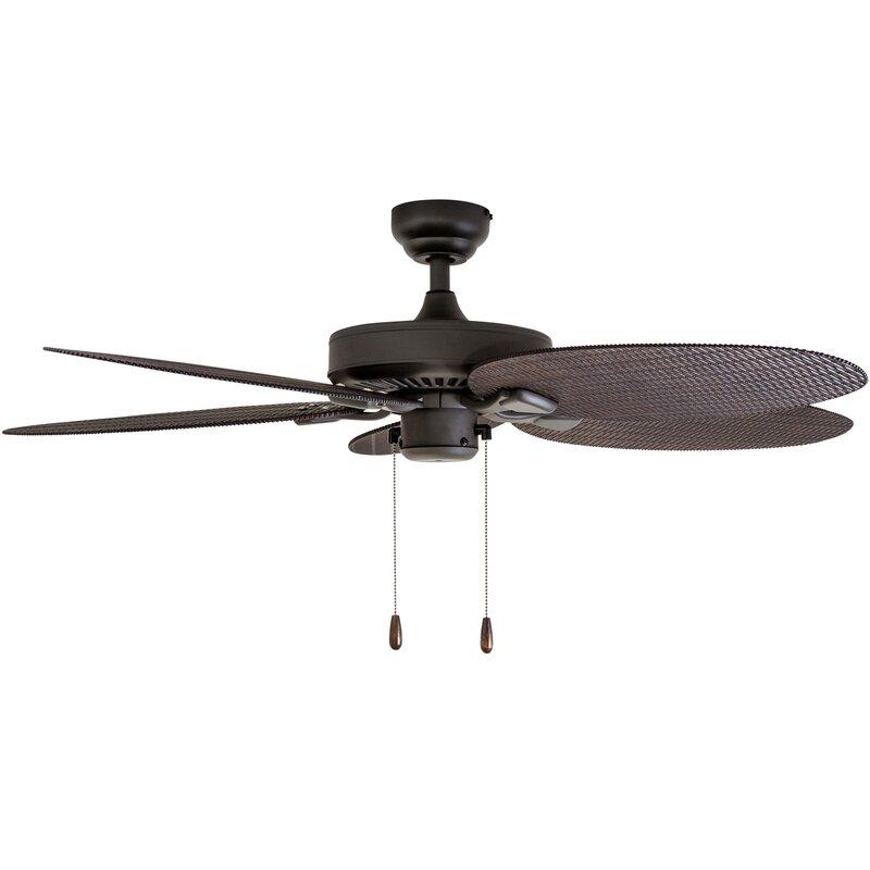 """Bayou Breeze 48"""" Kalea 5-Blade Outdoor Ceiling Fan"""