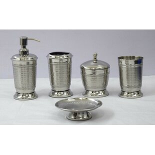 Stainless Steel Bath Accessory Sets Youll Love Wayfair