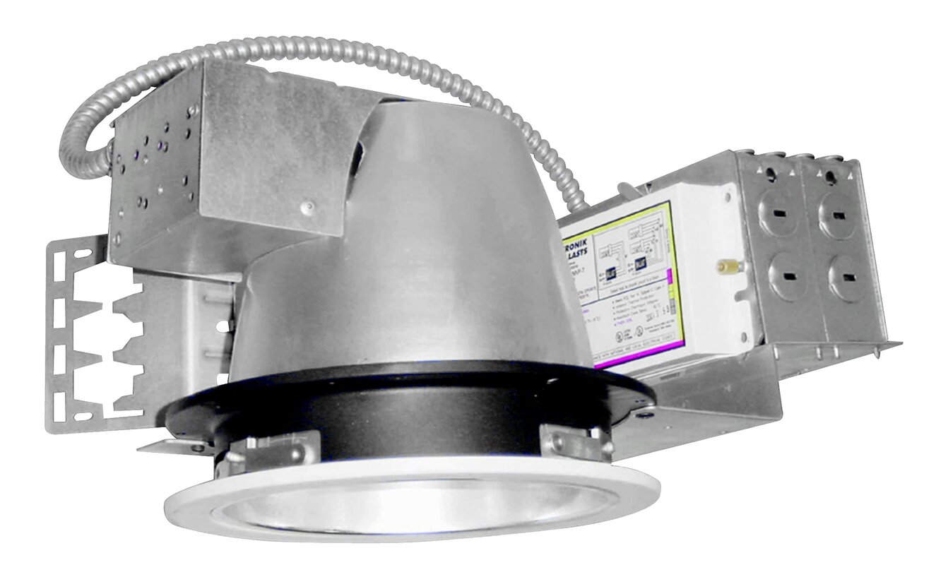 Architectural Fluorescent Dimmable Ballast Recessed Housing