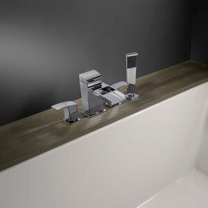 Kenzo Roman Tub and Shower Faucet Trim with Lever Handles
