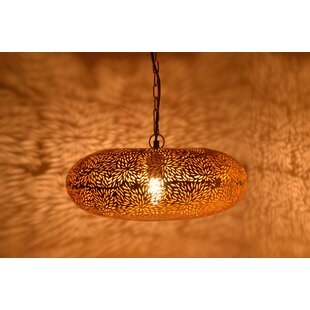 Moroccan pendant lighting wayfair moroccan 1 light geometric pendant aloadofball Images