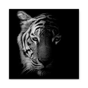 Tiger Canvas Wall Art You'll Love | Wayfair co uk
