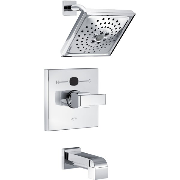 tub faucet in built head valve hardware spout with val divertor ufg shower