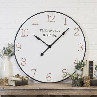 Large Gear Wall Clock Wayfair