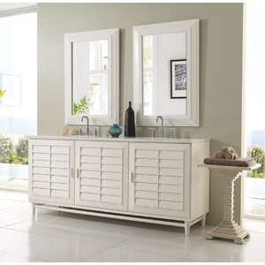 Musson 72 Double Bathroom Vanity Set