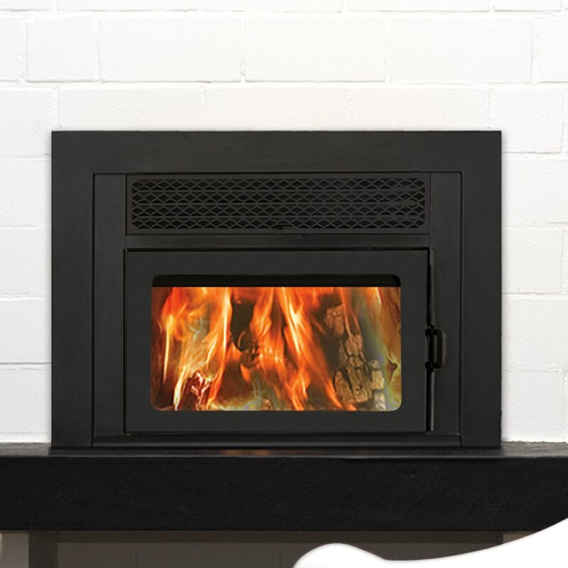 Supreme Fireplaces Inc Volcano Plus Wood Burning Fireplace Insert