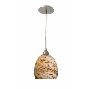 Strata art glass pendant light wayfair save aloadofball Image collections