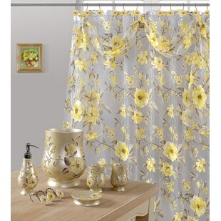 Yellow Gold Shower Curtains Youll Love
