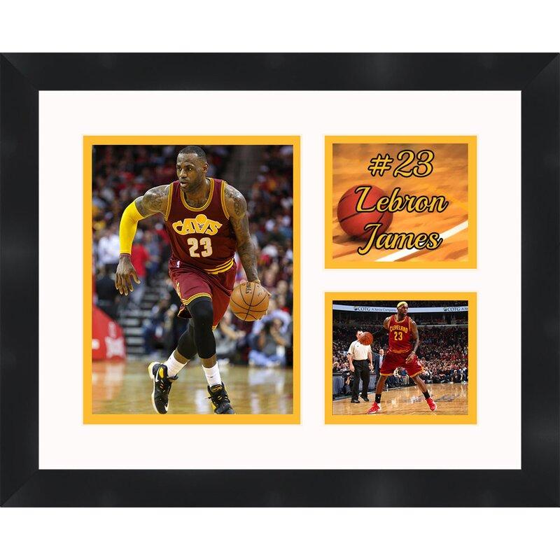 Frames By Mail \'Lebron James\' Framed Photographic Print   Wayfair