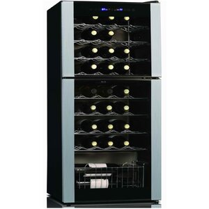 45 Bottle Dual Zone Freestanding Wine Cooler
