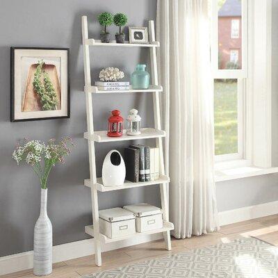 leaning bookcases ladder shelves you 39 ll love wayfair. Black Bedroom Furniture Sets. Home Design Ideas