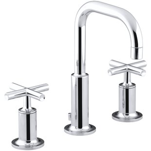 Quickview Kohler Purist Widespread Bathroom Sink Faucet With Low Cross Handles