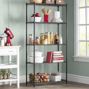 organizing small kitchens storage shelves amp shelving units you ll wayfair 1275