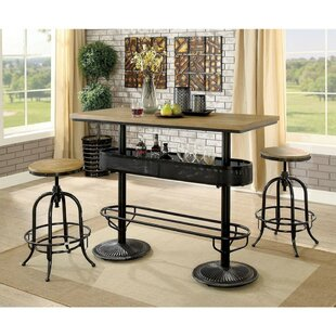 Nerstrand 3 Piece Pub Table Set