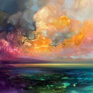 'Isle of Jure' by Scott Naismith Print on Canvas