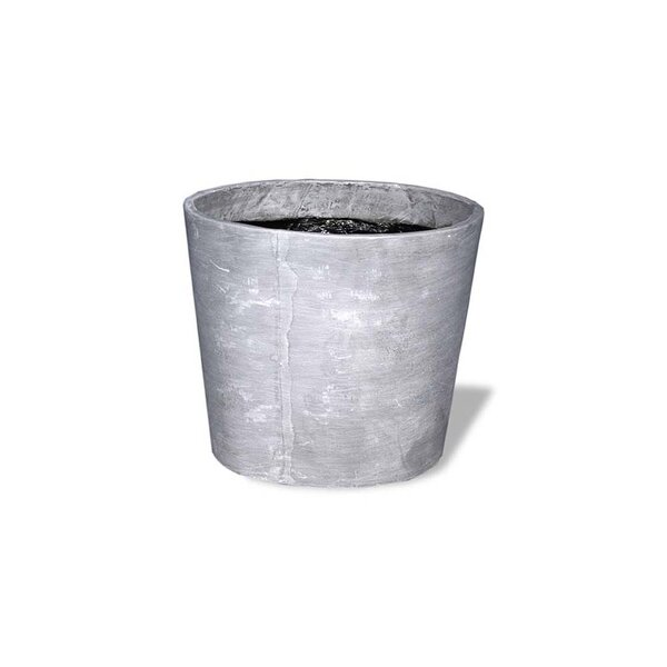 Amedeo Design Tall Cylinder Vase Resin Stone Pot Planter Wayfair