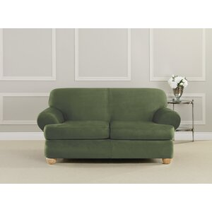 Ultimate Stretch T-Cushion Loveseat Slipcover