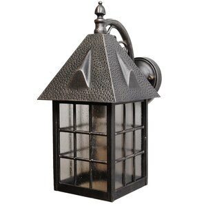 Perfect Kiss Series 1 Light Outdoor Wall Lantern