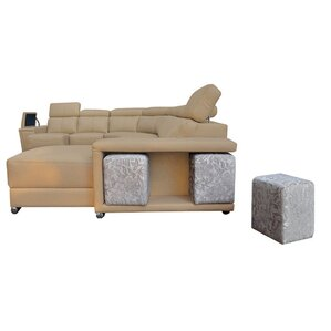 Banker Reclining Sectional by Latitude Run