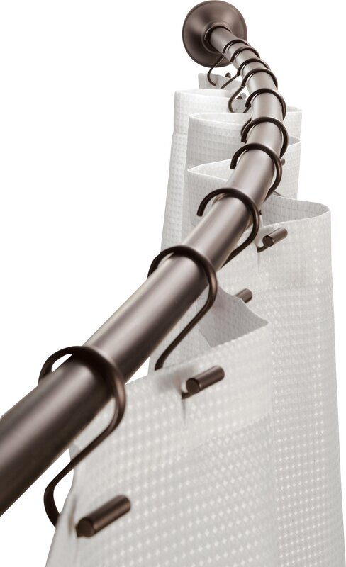 455 Curved Shower Curtain Rod