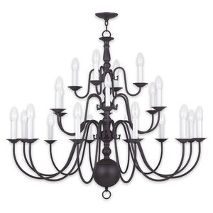 Allensby 22-Light Candle-Style Chandelier
