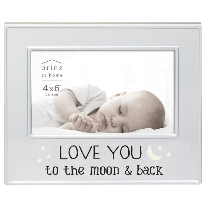 Prinz Love You To The Moon And Back Metal Picture Frame Wayfairca