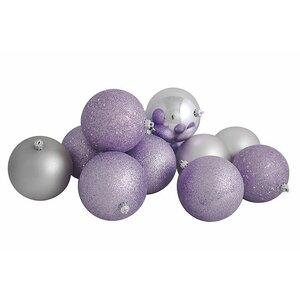 Shatterproof Christmas Ball Ornament Set (Set of 12)
