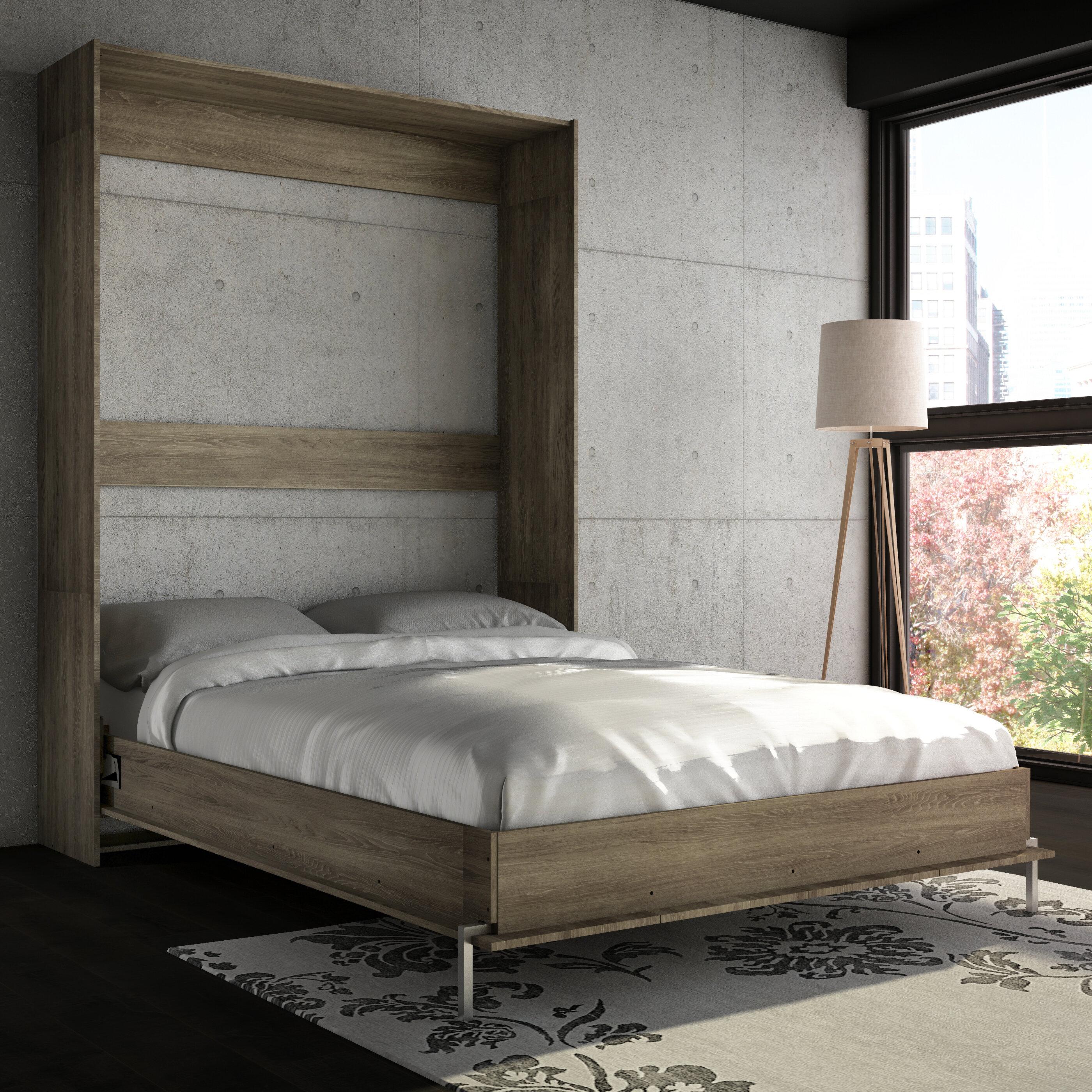 Wade Logan Lower Weston Murphy Bed & Reviews | Wayfair