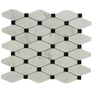 black and white marble tile floor. Chevy Marble Tile In Black White You Ll Love  Wayfair