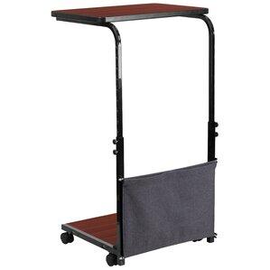 Height Adjustable Wheels Standing Desk