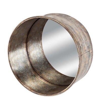 Modern Round Silver Wall Mirrors Allmodern