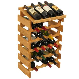 Dakota 24 Bottle Floor Wine Rack