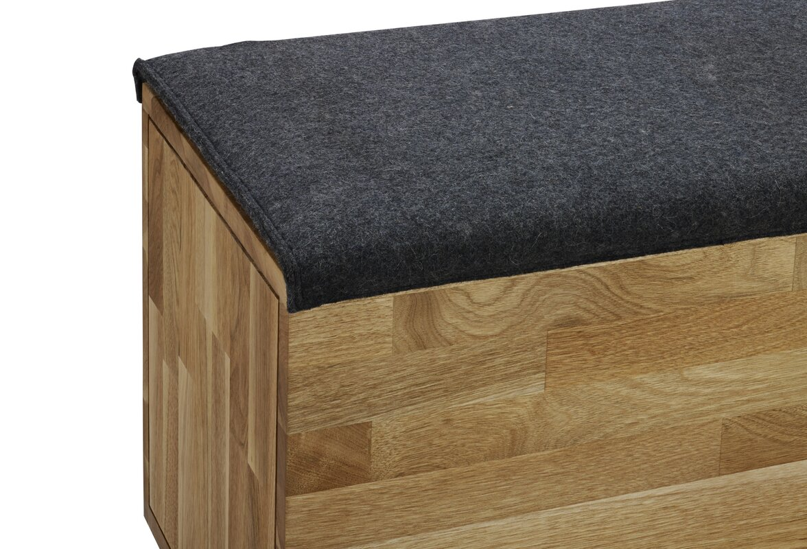Laxseries Upholstered Storage Bench Amp Reviews Allmodern