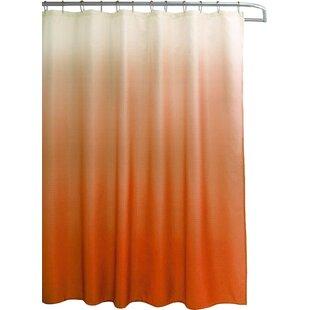 Wickstrom 13 Piece Ombre Waffle Weave Shower Curtain Set