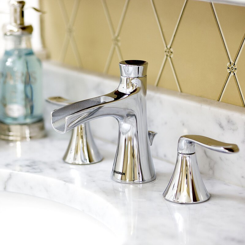 Caspian Widespread Bathroom Faucet