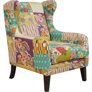 Menara Wingback Chair by Bungalow Rose