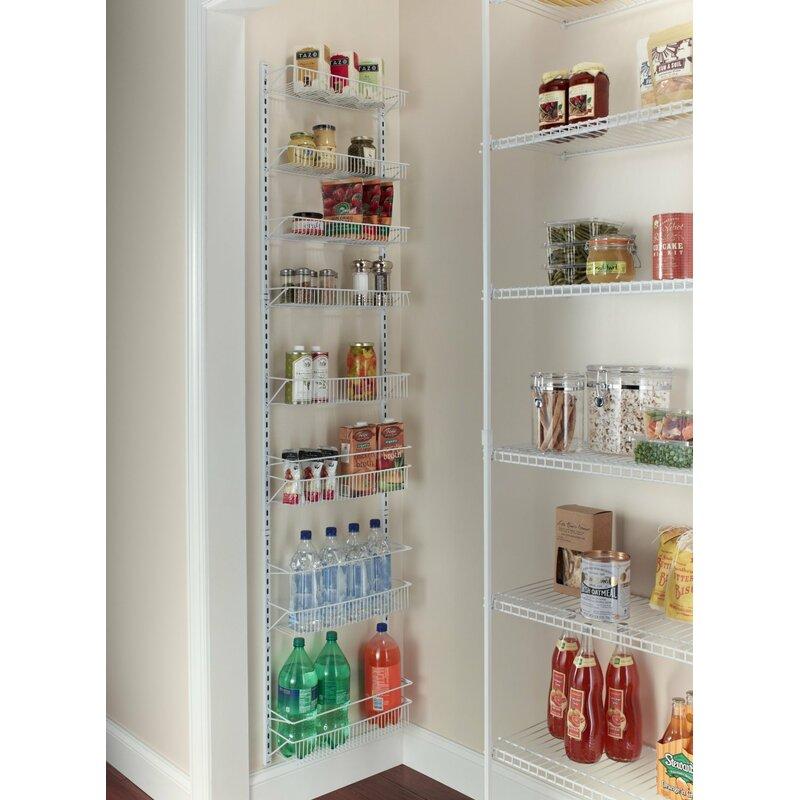 Attrayant 8 Tier Adjustable Cabinet Door Organizer