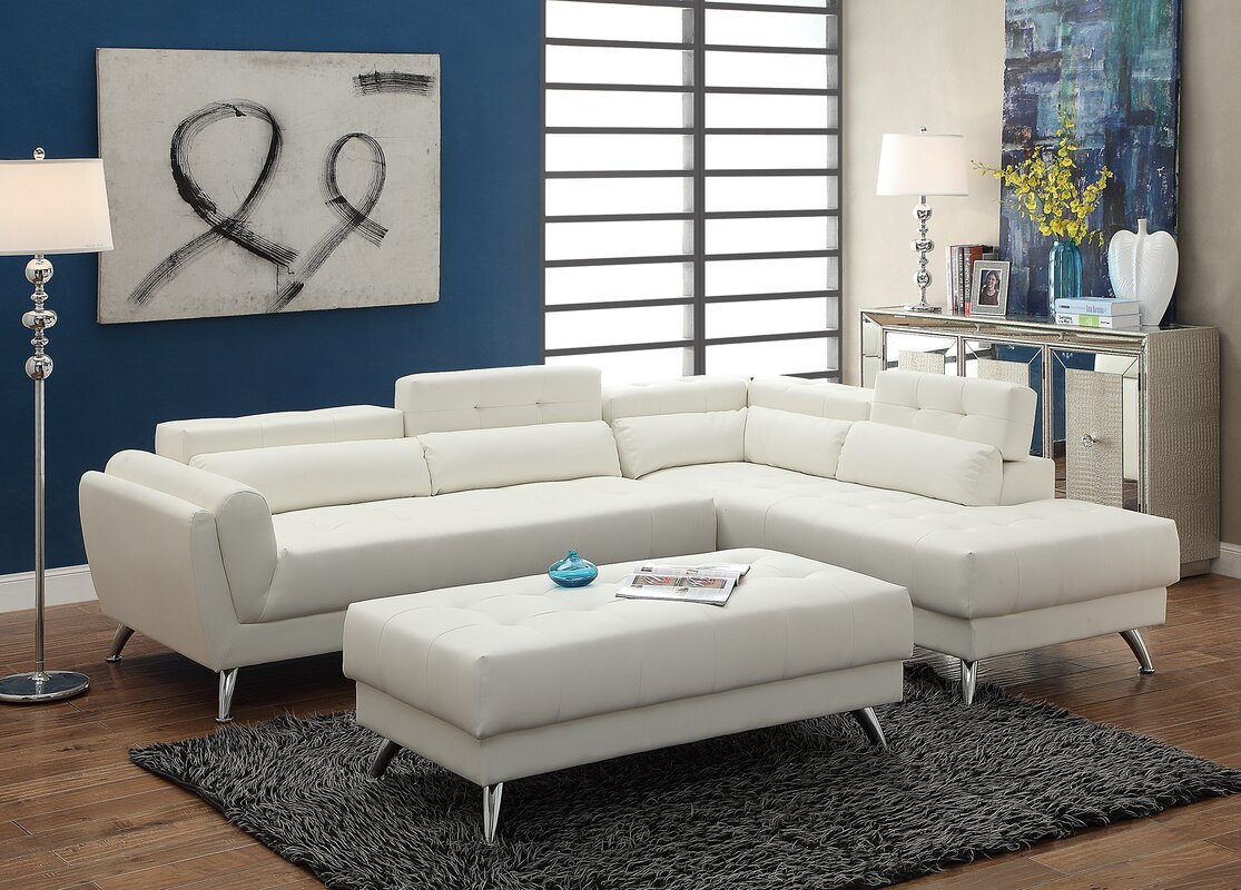 Bobkona Jolie Reclining Sectional : reclining sectionals - islam-shia.org