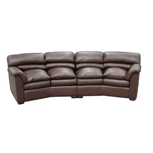Canyon Conversation Sofa by Omnia Leather