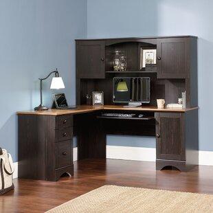 Miami Springs Computer Desk With Hutch