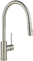 Brushed Nickel Kitchen Faucets