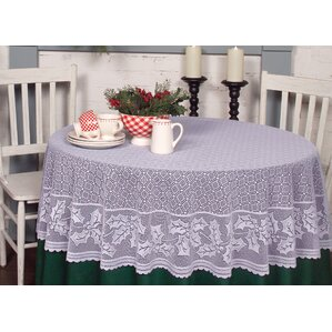 Holly Vine Round Tablecloth