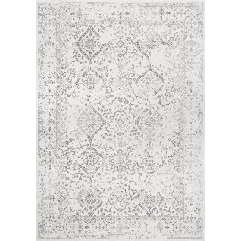 Laurel Foundry Modern Farmhouse Youati Ivorygray Area Rug Reviews