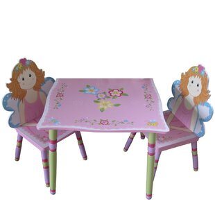 Fairy Children's 3 Piece Table And Chair Set by Liberty House Toys