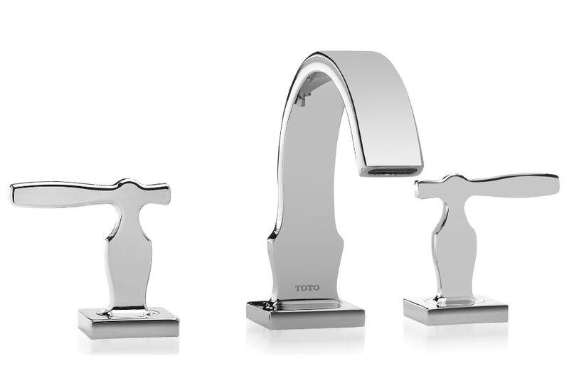 Toto Aimes Widespread Bathroom Faucet Reviews Wayfair - Toto bathroom faucets