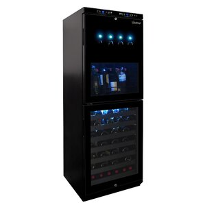 88 Bottle Dual Zone Convertible Wine Cooler by Vinotemp